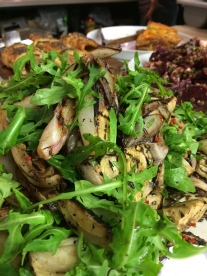 Grilled Fennel & Chicory with Balsamic & Chilli Dressing