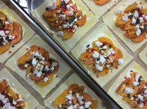Sweet Potato, Chilli, Goats Cheese & Seed Galette